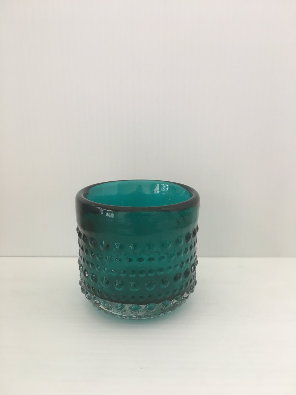 TEAL VOTIVE $3 EACH