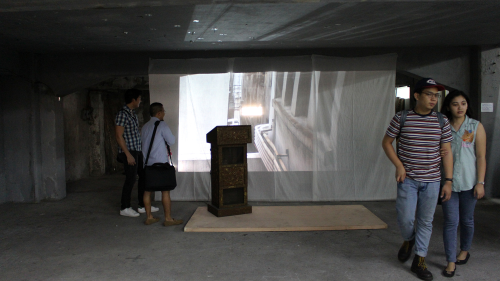 Murmurs Installation View, The Library by Soundpocket Project X 98B Collaboratory 2015