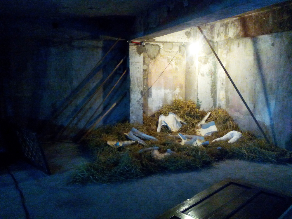 Upon Leaving the Hollow, Installation View Lou LIm, Project ESC, 98BCOLLABoratory 2015