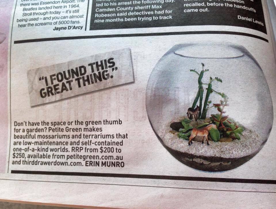 Herald Sun August 2014