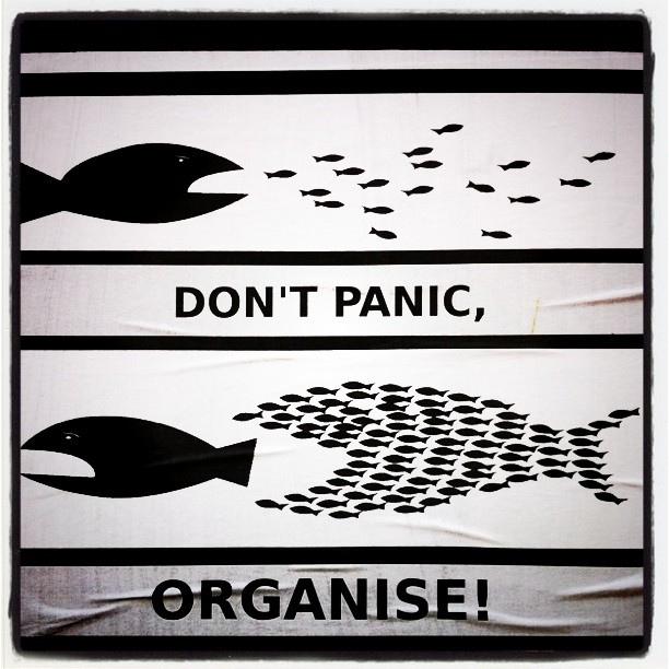 Dont panic organise