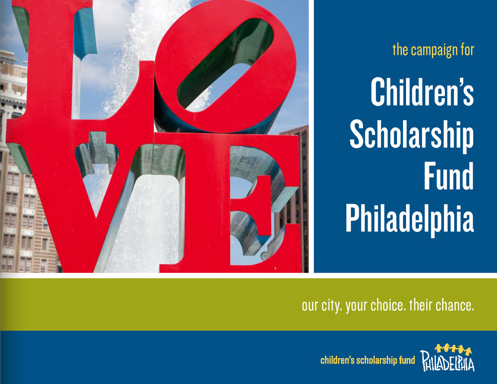 child essay fund philadelphia scholarship The maximum scholarship cap varies from city to city, and the average award is around $1,700 families must always contribute at least 25 percent of their tuition each year, which is per family and not per child.