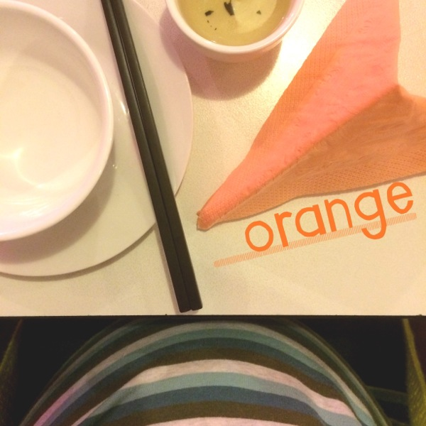 Day Four: Orange Location: Leong Kitchen, Campbell, ACT