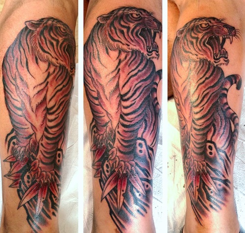 63f4509ec Tattoo by Chris O'Donnell 2014