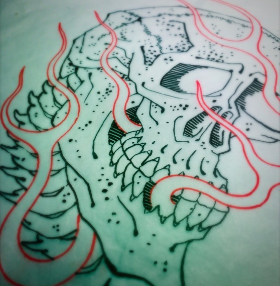 Tattoo drawing by Chris O'Donnell 2015
