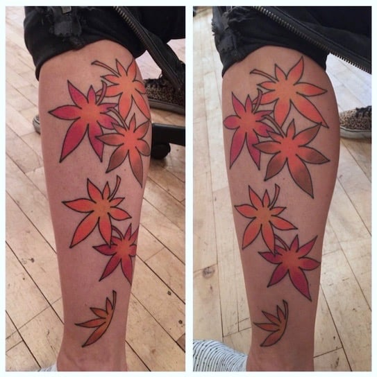 Tattoo by Chris O'Donnell 2016