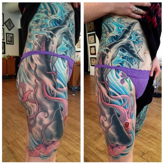 Tattoo by Chris O'Donnell 2014, 2015