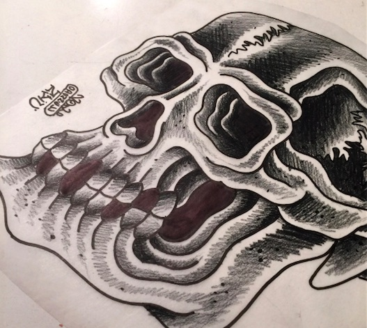 Tattoo drawing by Chris O'Donnell 2016