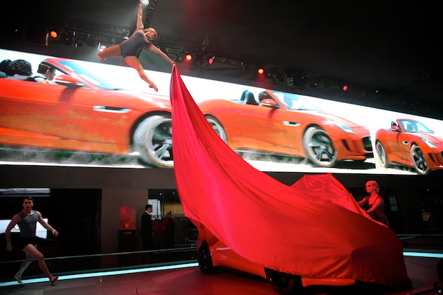 JAGUAR F-TYPE LAUNCH, SHANGHAI