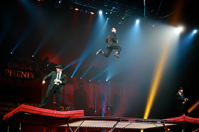 Blues Brothers Trampoline
