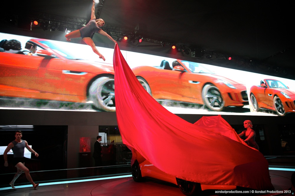 Jaguar F-Type Launch Shanghai Auto Show 2013