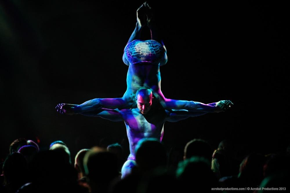 Equilibrium Acrobats