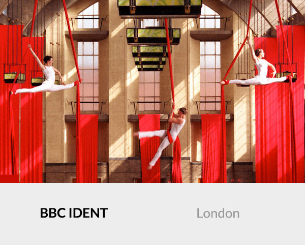 BBC Aerial Silks Ident