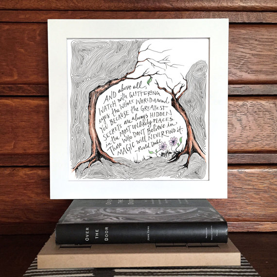 Magic Trees Illustration Print | $15.00
