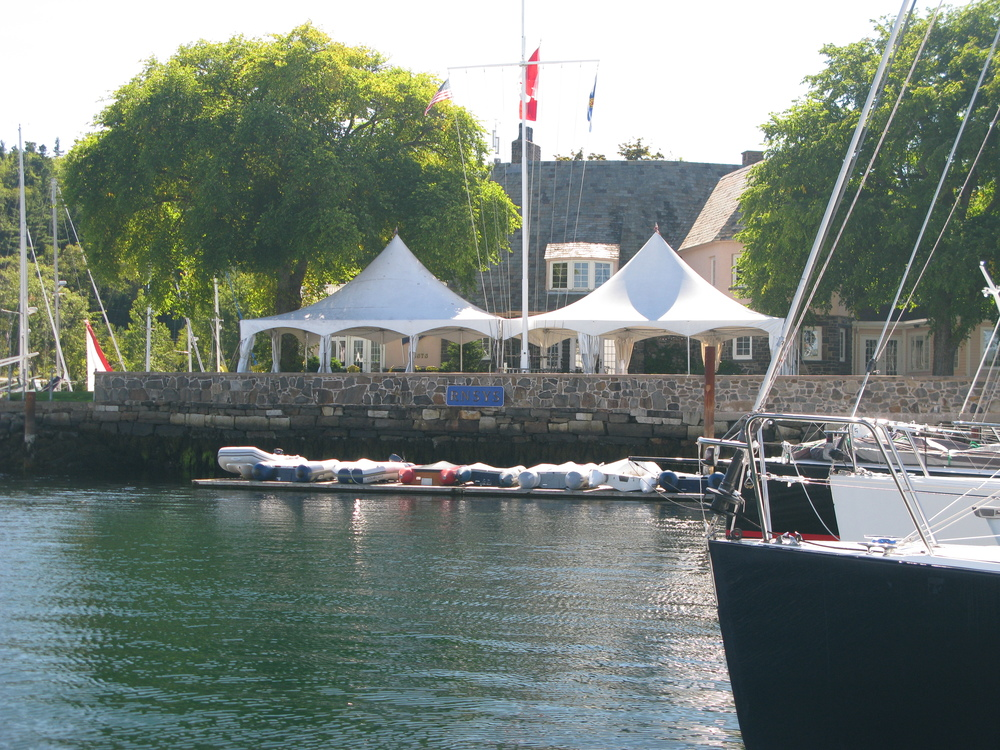 Main clubhouse from the water