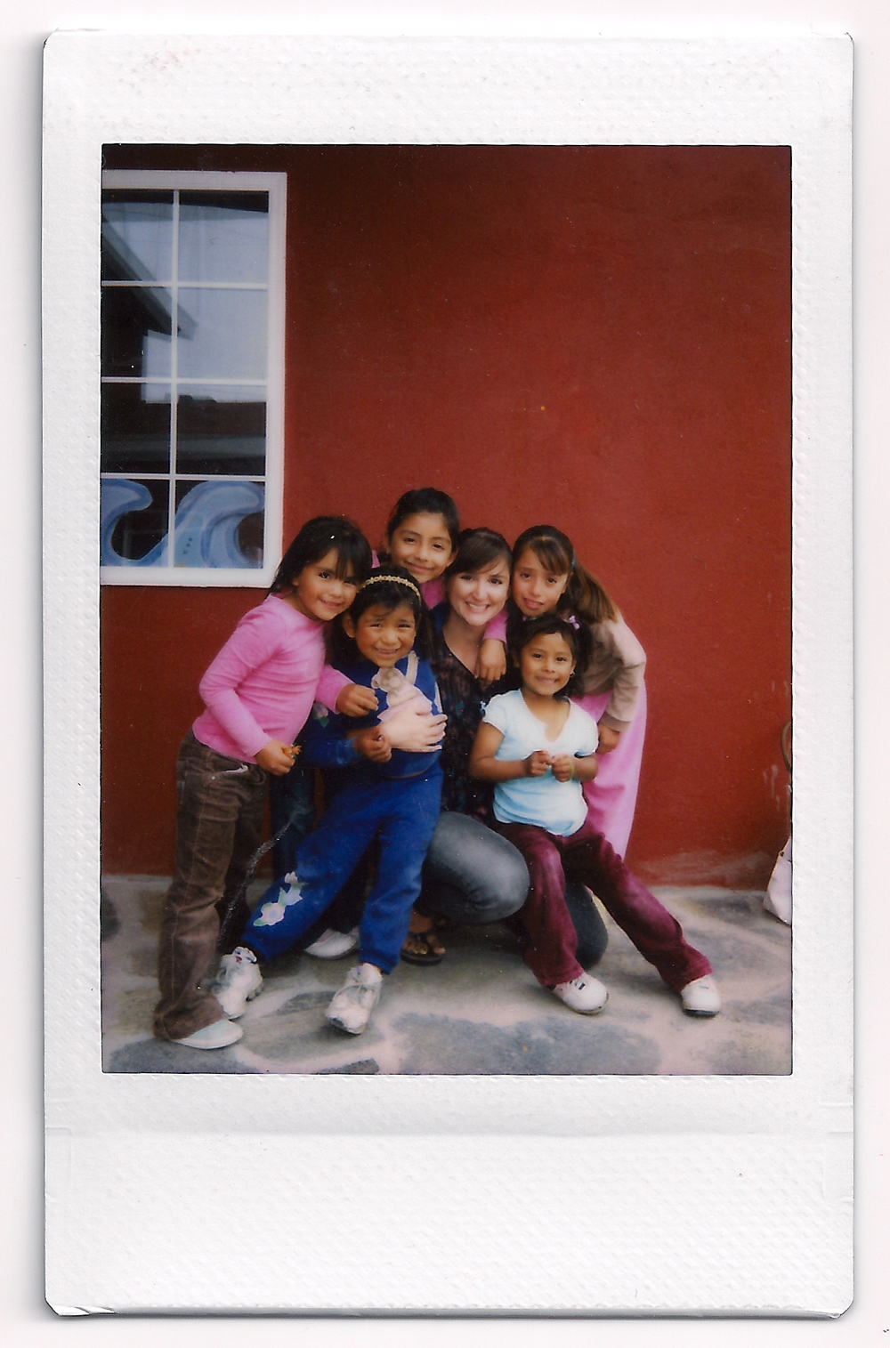 Me and mi amigas at Open Arms Childcare Ministries in La Mision, Mexico. Summer 2010