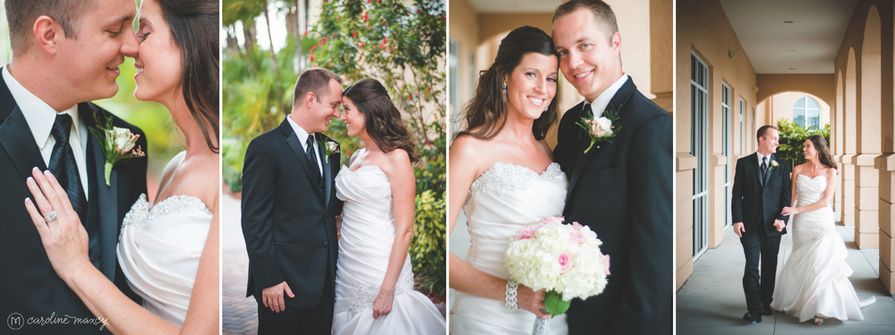 Becky & Dan's Sebring, FL Chateau Élan Wedding with Caroline Maxcy Photography.