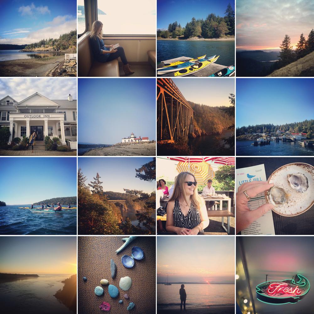 Caroline Maxcy's Seattle and San Juan Islands, WA Instagram photo favorites.