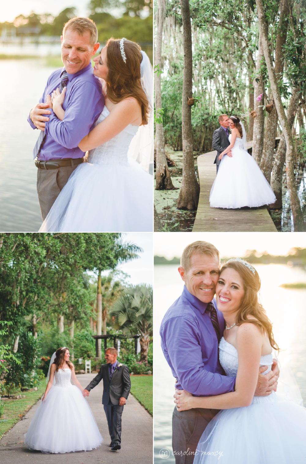 Miss Cindy's Garden Destination Wedding Photography with Caroline Maxcy Photography.