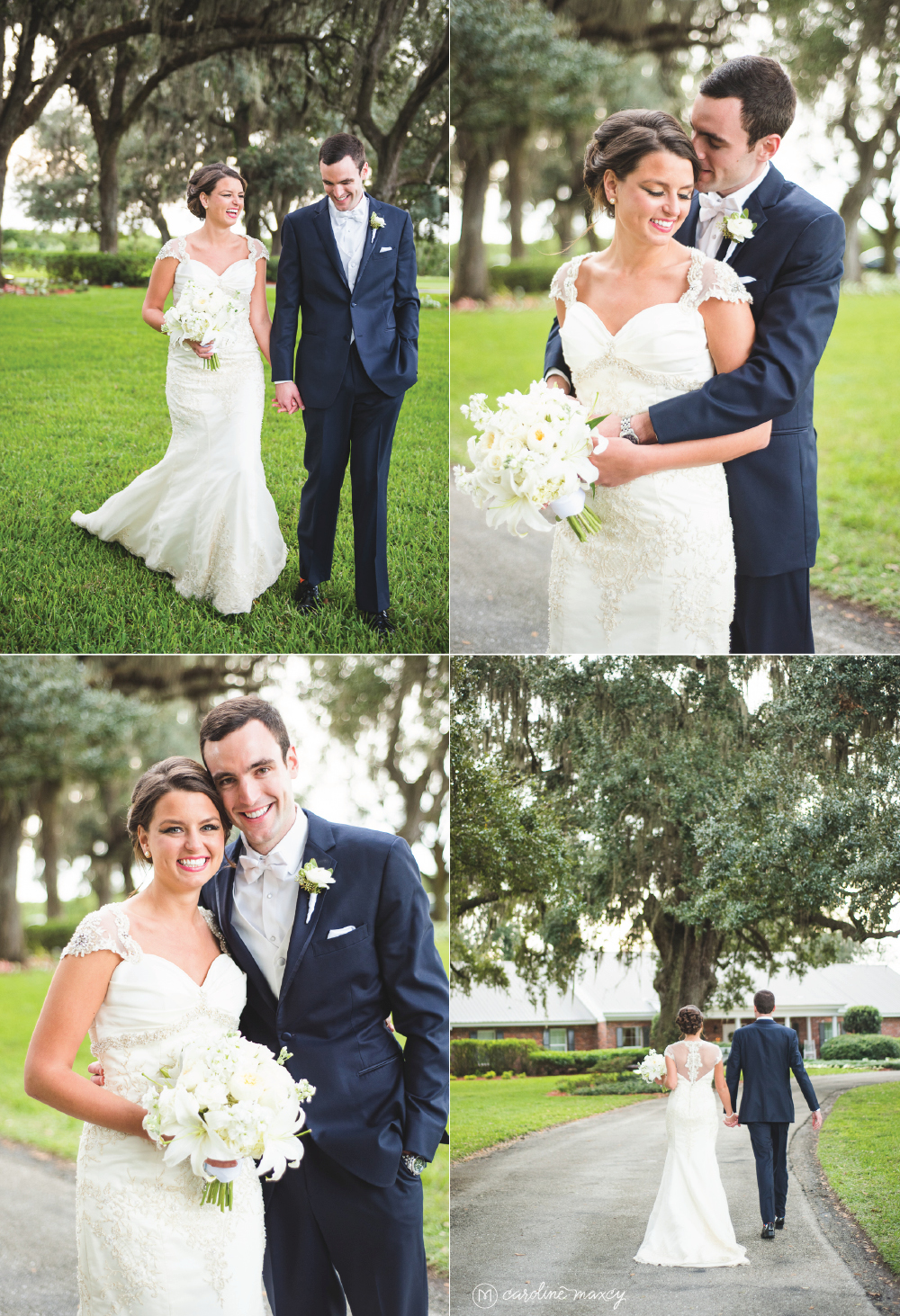 Shelby and David tie the knot! Wauchula, FL Wedding Photography with Caroline Maxcy Photography.