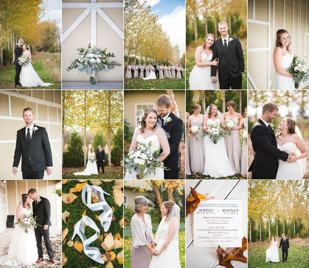 Sophia + Rodney — Green Villa Barn and Gardens Wedding Photography in Independence, Oregon