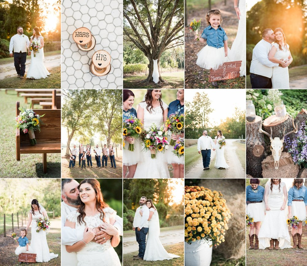 Katherine + Buckie – Avon Park, FL wedding photography with Caroline Maxcy Photography