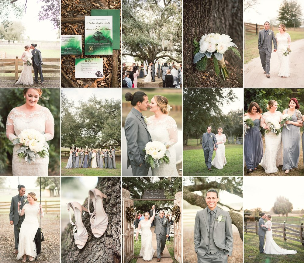 Taylor + Steven — Avon Park, Florida wedding photography with Caroline Maxcy Photography.