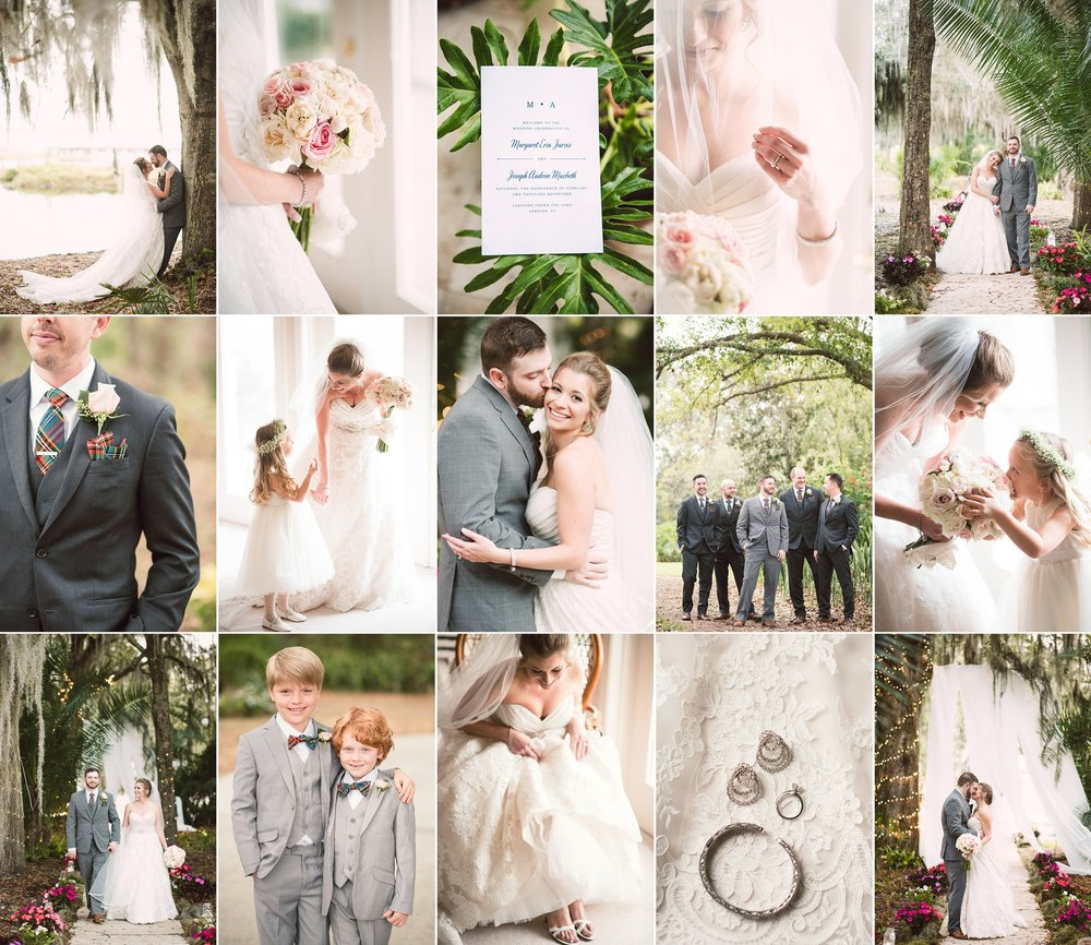 Margaret + Andrew — Sebring, Florida wedding photography with Caroline Maxcy Photography.