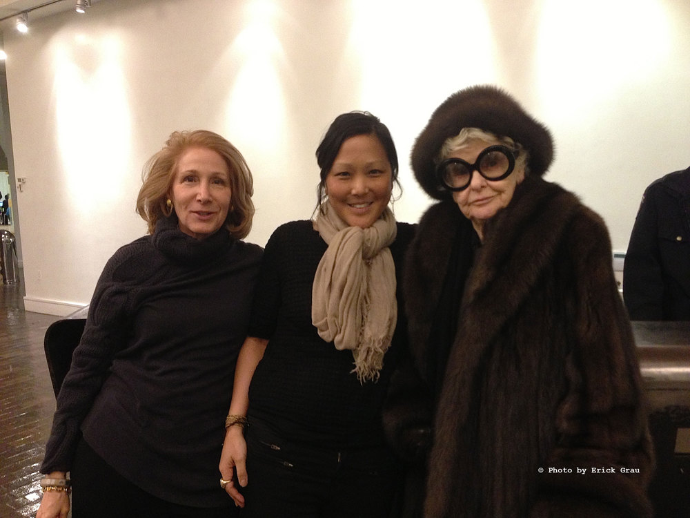 Elizabeth Hemmerdinger (Left), Chiemi Karasawa (Center), & Elaine Stritch (Right)