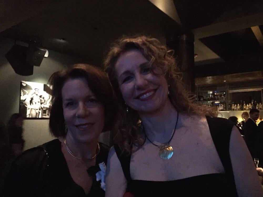 Ellen Goosenberg and Catherine Tambini.
