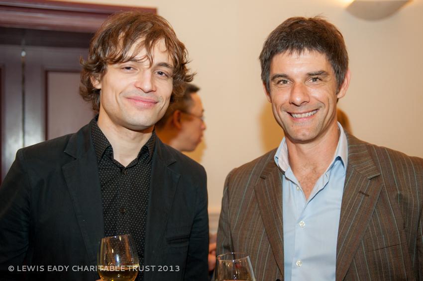 Ilya Rashkovskiy with John Eady
