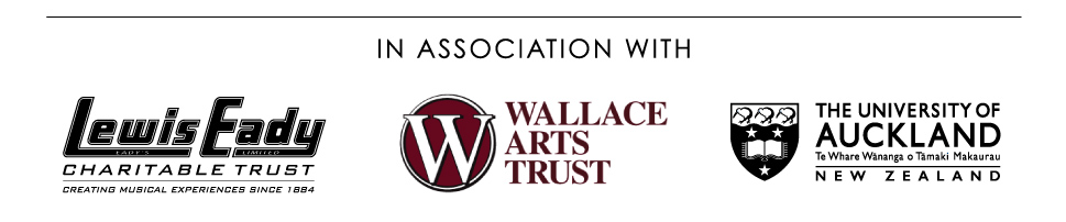 The Wallace National Piano Competition in association with; Lewis Eady Charitable Trust, Wallace Arts Trust & The University of Auckland.