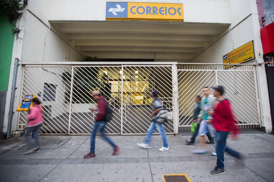 O fundo de pensão dos funcionários dos Correios, o Postalis, está sob intervenção da Previc Foto: Tiago Queiroz/Estadao