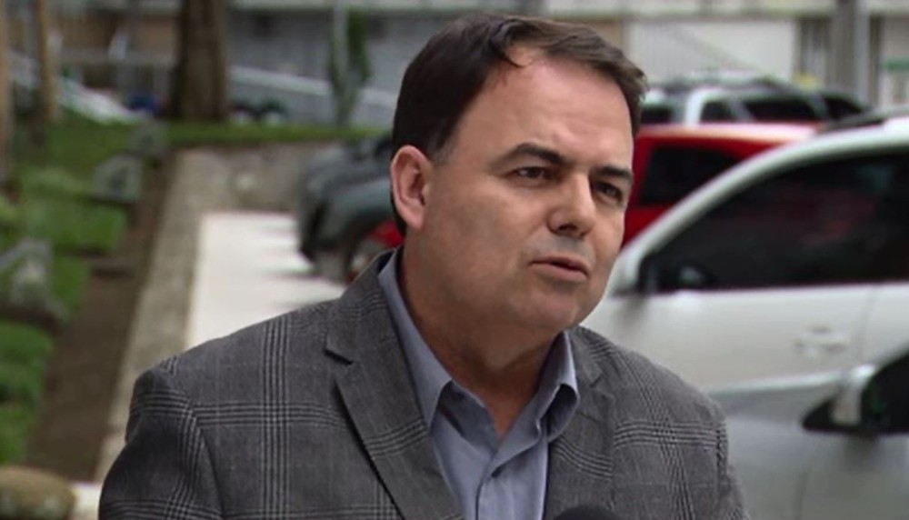 O ex-diretor do Departamento de Estradas de Rodagem no Paraná (DER-PR), Nelson Leal Junior; ele foi preso na 48ª fase da Lava Jato (Foto: Reprodução/ RPC Curitiba)