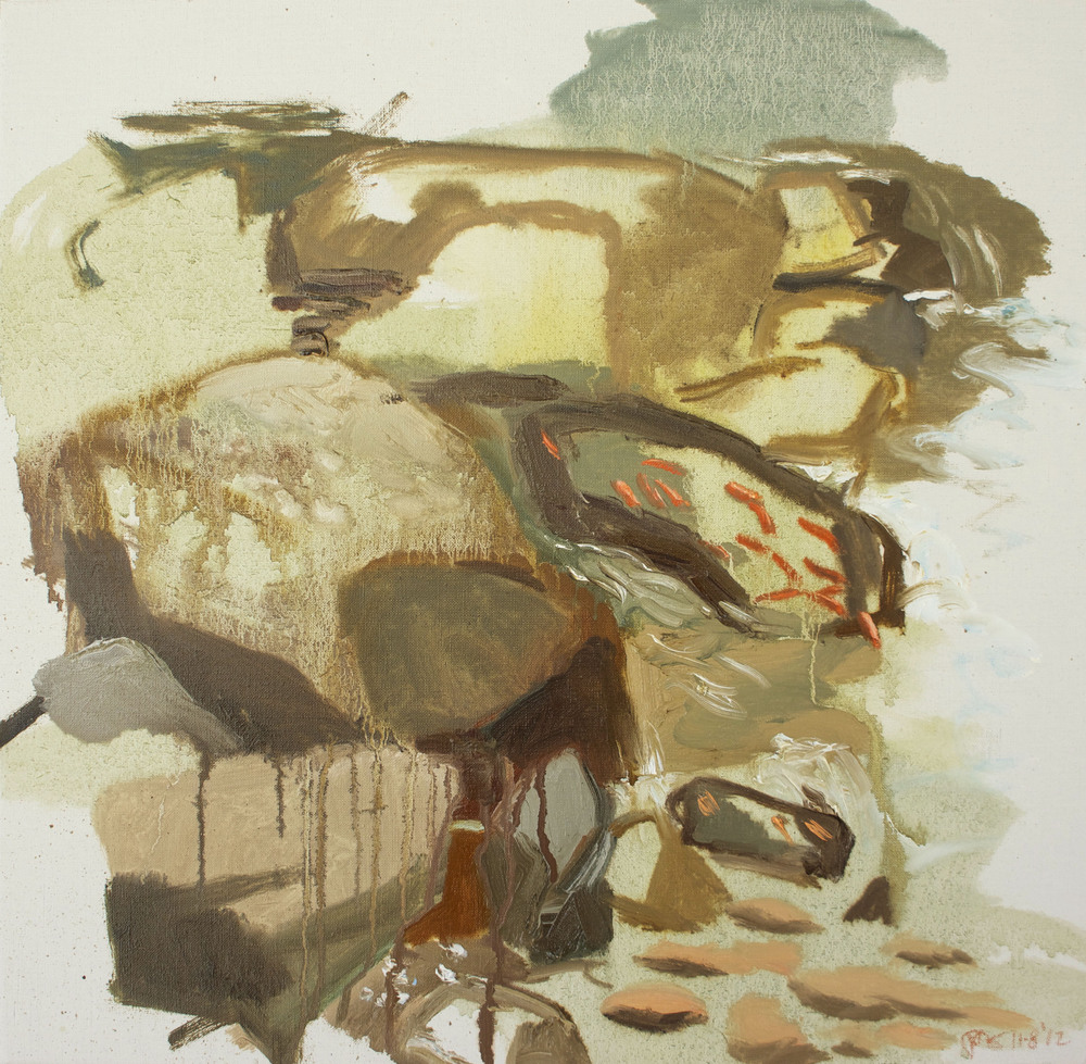 "11/8/12 n. crestone trail   14x14"" oil on very fine portrait linen"