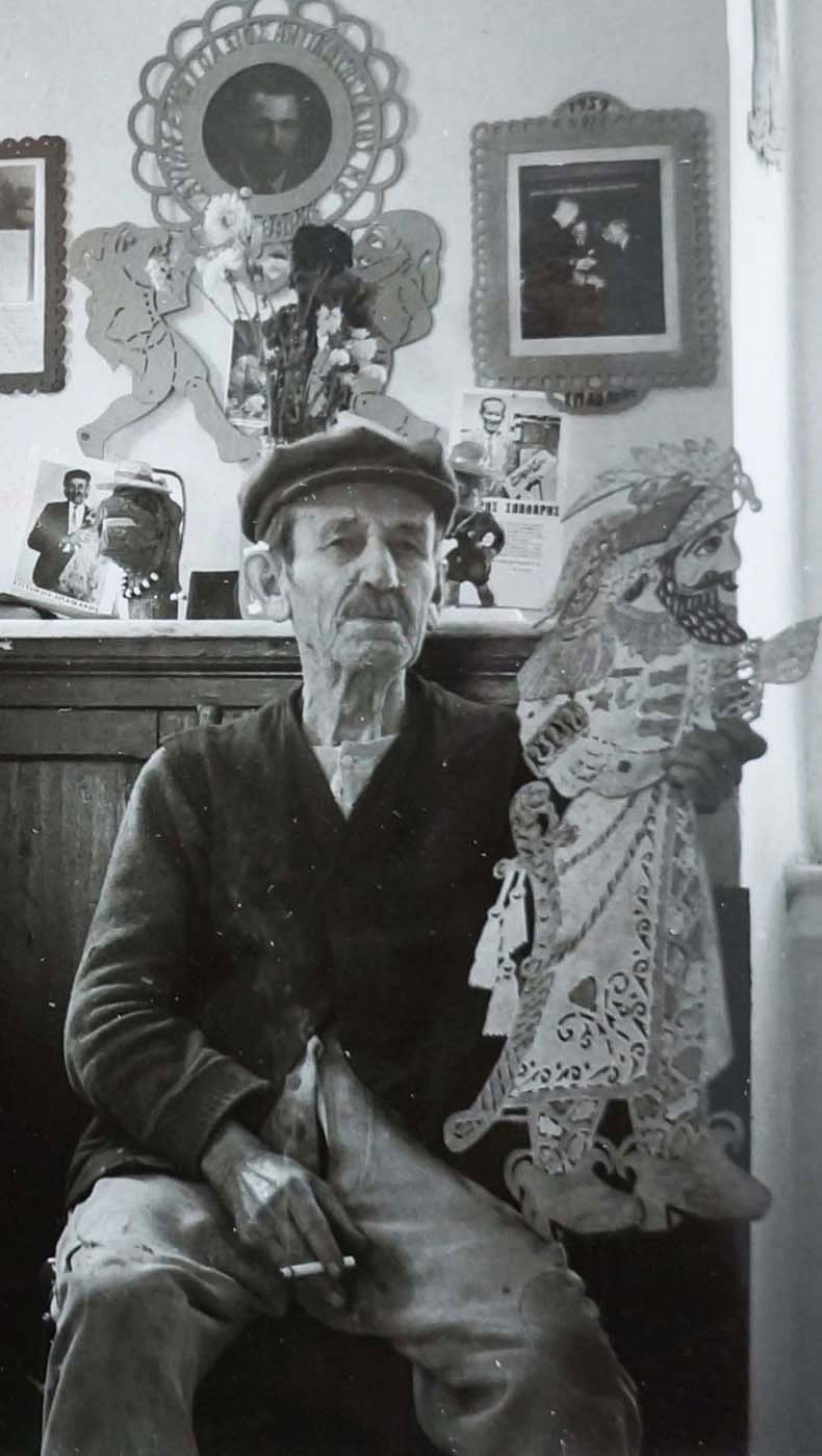 sotiris spatharis in his plaka studio  photo: tarlow