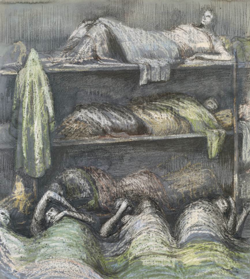 one of moore's underground drawings