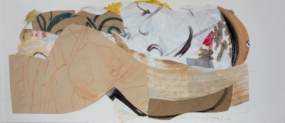 2-26-13 collage 1  15x35 cm