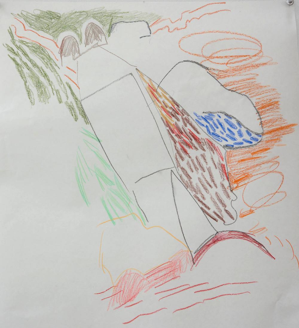 4/3/14: preliminary sketch for  stivari