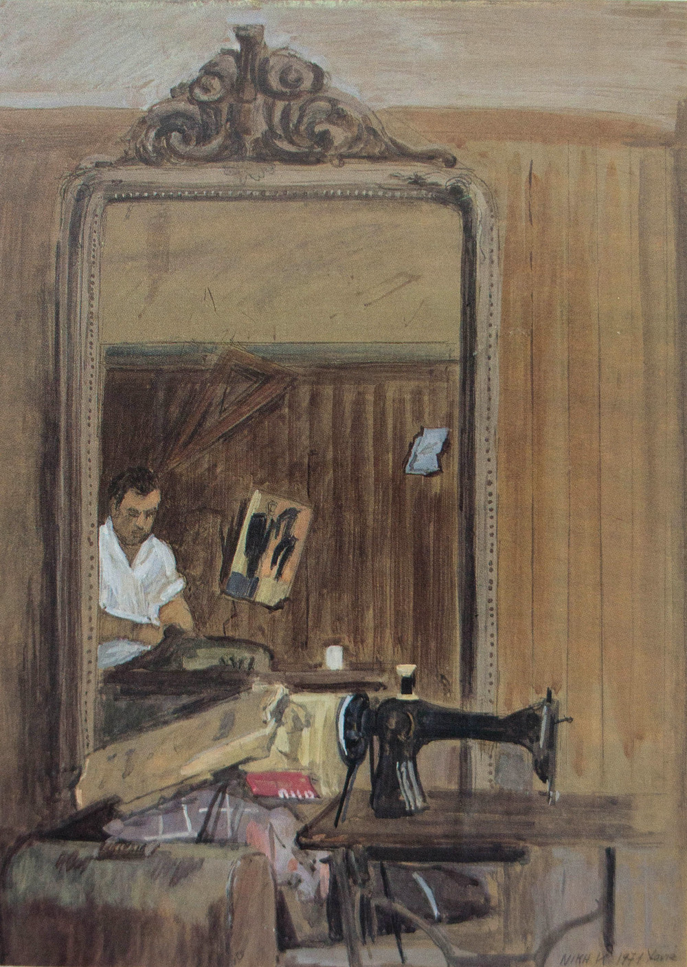 niki karagatsi: tailor shop, chania
