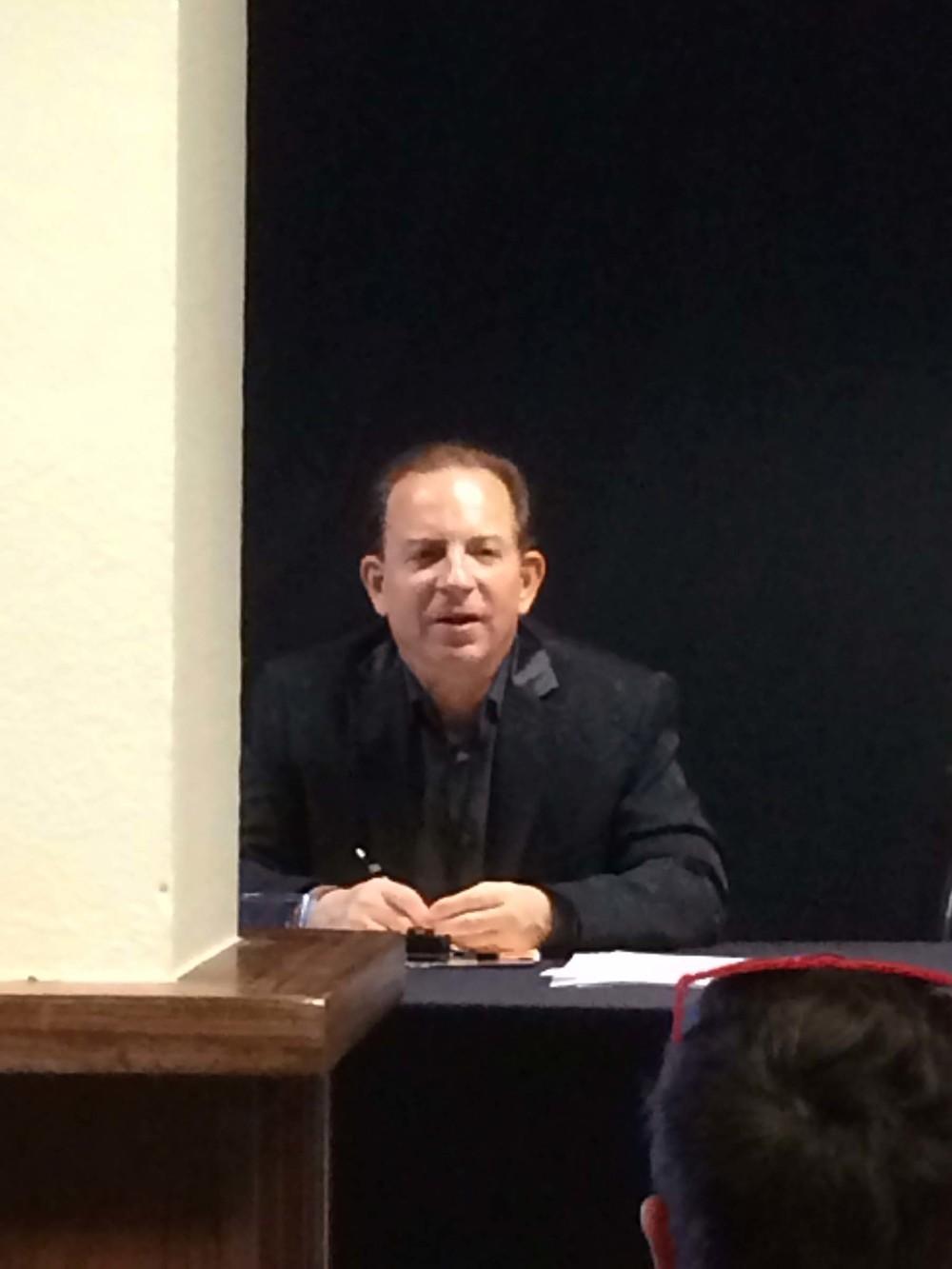 Lester Marks  speaks at Art Aspen, 8/3/14