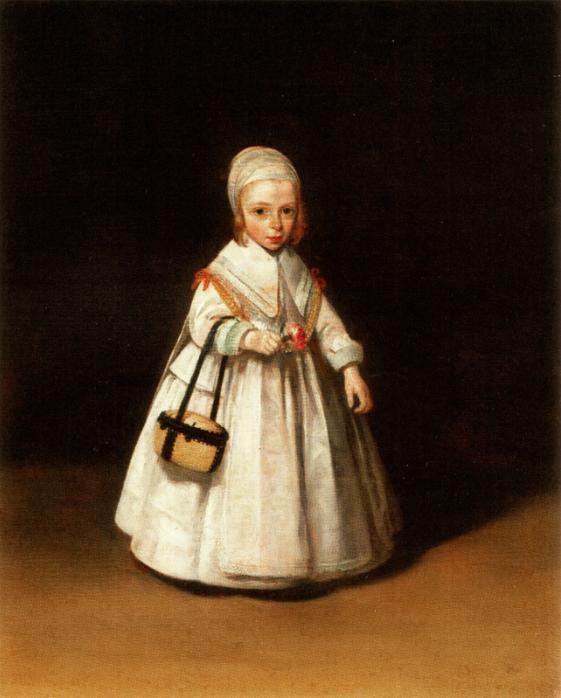 helena van der schalcke as a child , terborch