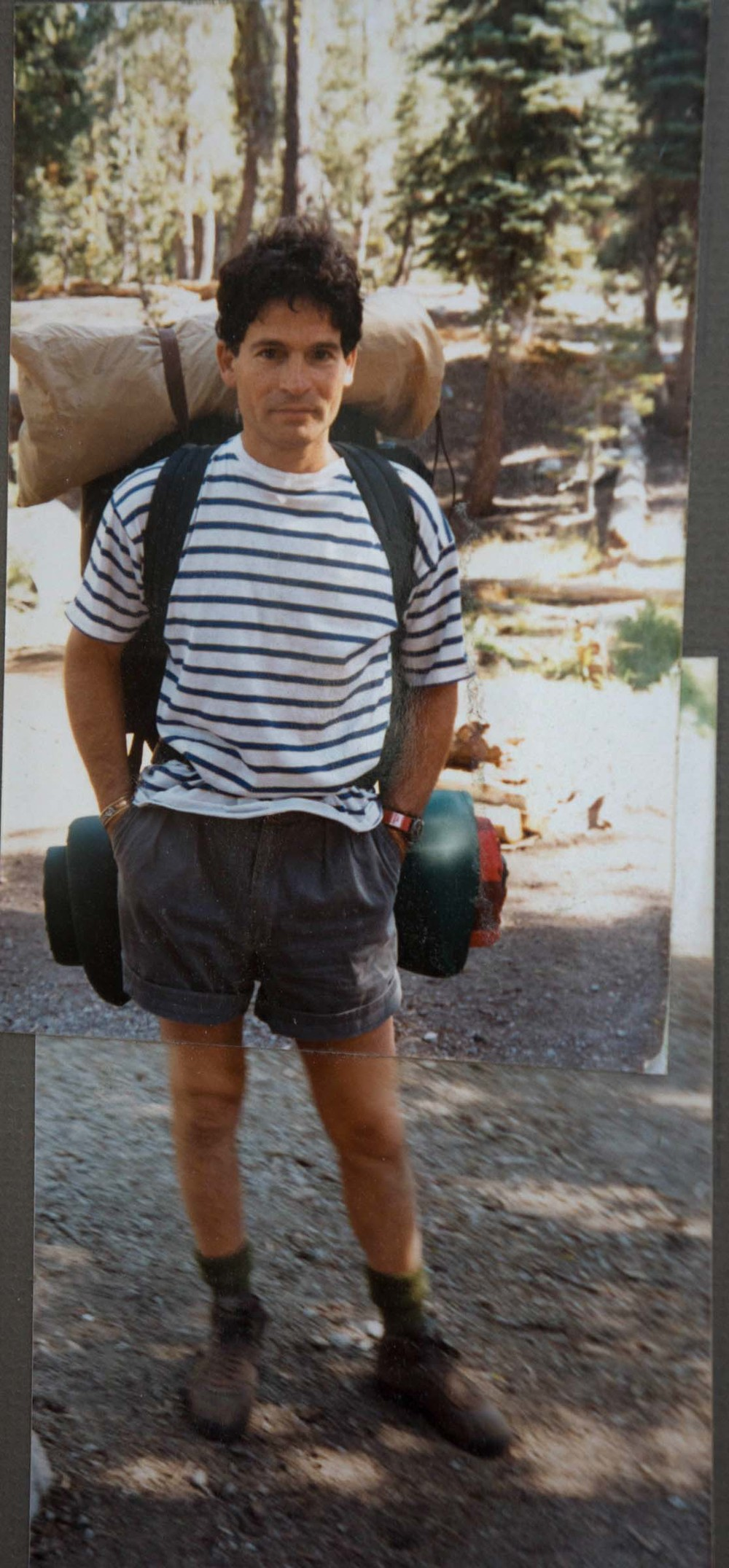 on a camping trip with mikela, n. california  ca. 1988