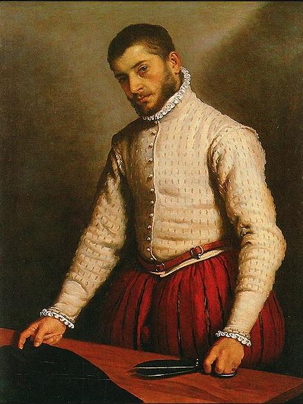 g.b. moroni,  the tailor  1570-75