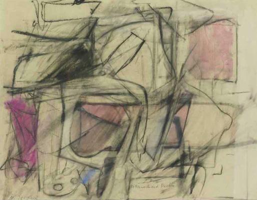 willem dekooning untitled  1950