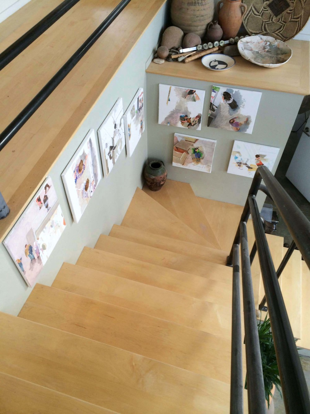 site-11-20-14 paintings on stairs 1.jpg