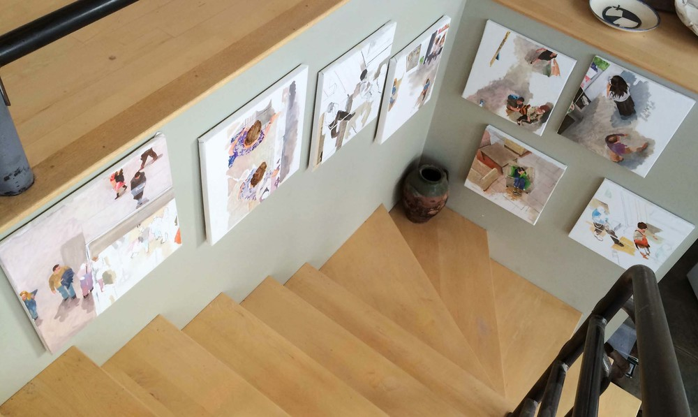 site-11-20-14 paintings on stairs 4.jpg