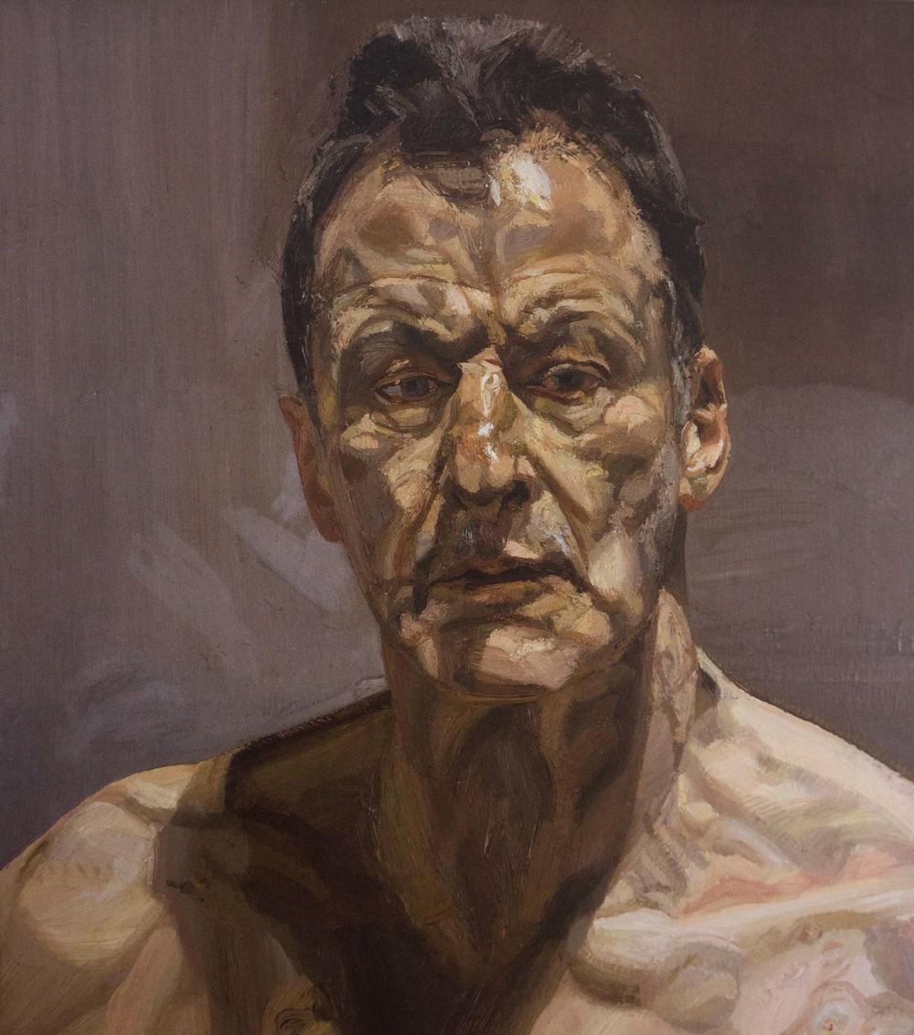 lucien freud self portrait