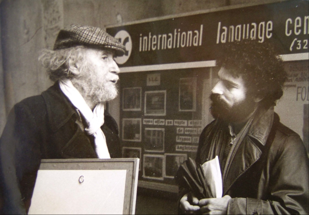 tarlow & tsarouchis in paris, ca. 1971-3