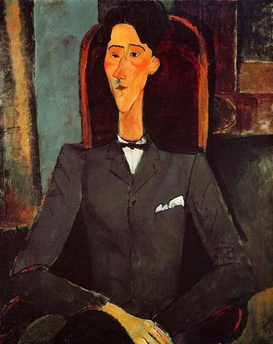 4-7-15 Modigliani Cocteau portrait.jpg